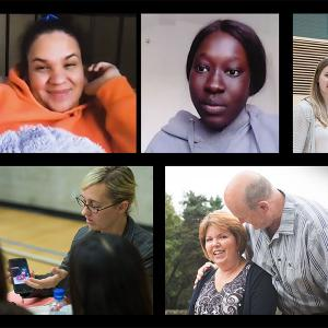 Photo of patients from Living Library videos