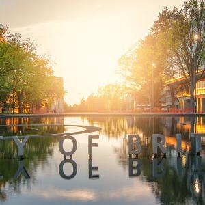 Photo of UBC fountain