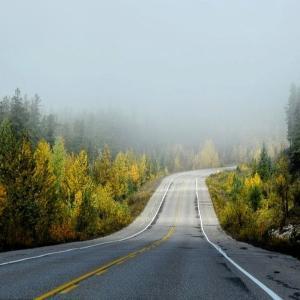 Photo of road leading to sunshine